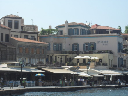 Chania port Kreta. Reportaż CDN
