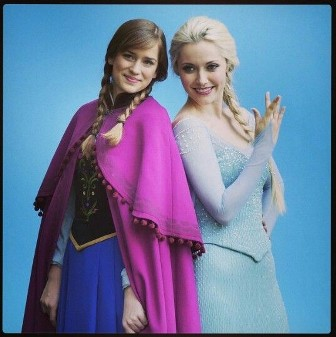 once upon a time frozen 2014 - anna elsa season 4-f17049