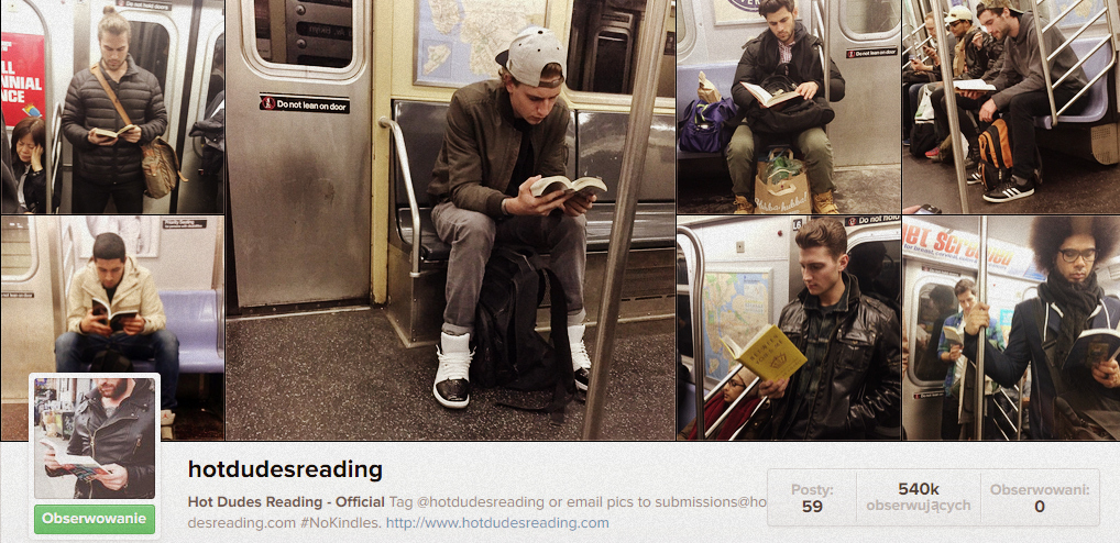 fot. instagram Hot Dudes Reading