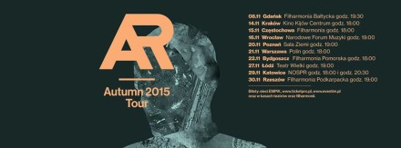 artur rojek autumn tour