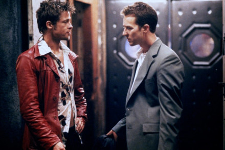 Fight Club - Brad Pitt, Edward Norton