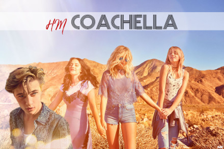 H&M loves COACHELLA  Grafika: Monika Kreft